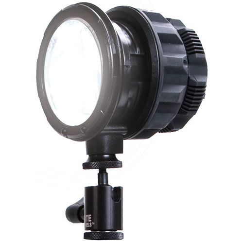 SolaENG Fresnel LED on Camera Light with Standard Hot Shoe Mount and Power Cable SolaENG
