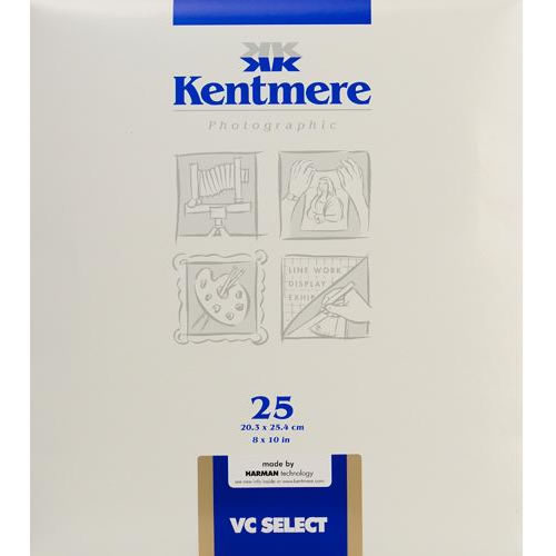"8"" x 10"" RC VC Select Fine Lustre 25 Sheets"