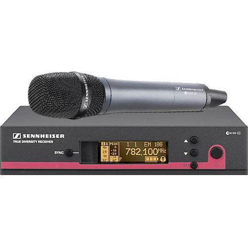 EW165G3-A Handheld Electret Condenser Includes EM 100, SKM165 (516-558 MHz)