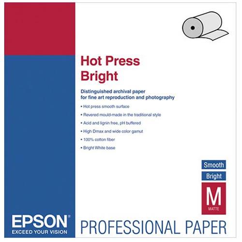 """24"""" x 50' Hot Press Bright Roll"""