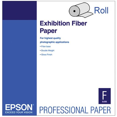 "17"" x 50' Exhibition Fiber 325gsm Paper Roll"