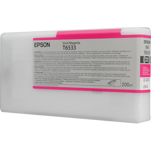 T653300 Vivid Magenta 200ml SP4900 Ink Cartridge