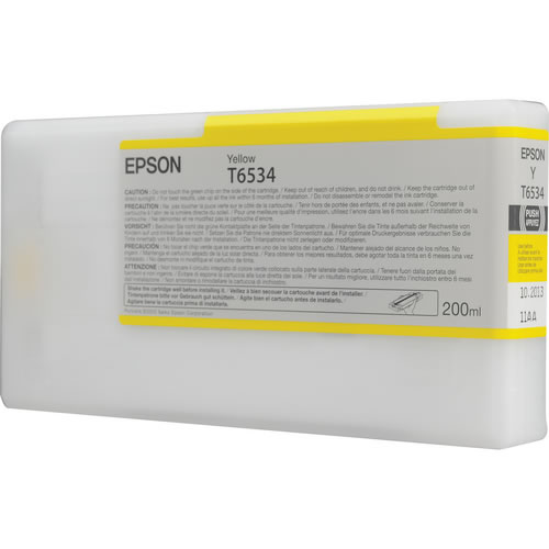 T653400 Yellow 200ml SP4900 Ink Cartridge