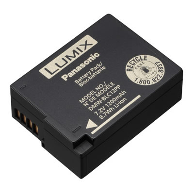 DMWBLC12 Lithium Ion Battery for G85, FZ2500/1000, FZ300/200, G7/6/5, GH2