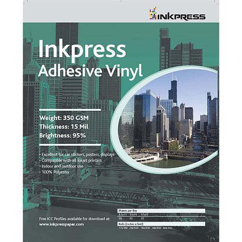 "13"" x 19"" Adhesive Vinyl 13mil 20 Sheets"