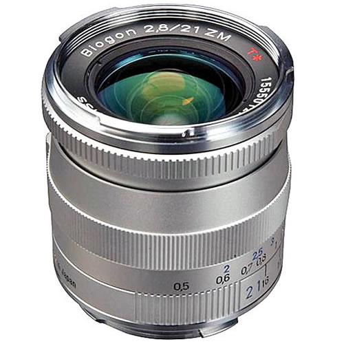 Biogon T* 21mm f/2.8 ZM Silver