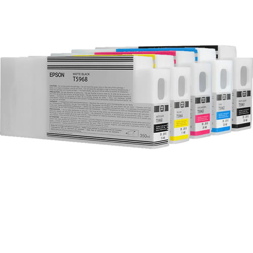 SP7700 / 9700 Colour Ink Set 5 Carts 350ml