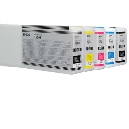 SP7700 / 9700 Colour Ink Set 5 Carts 700ml