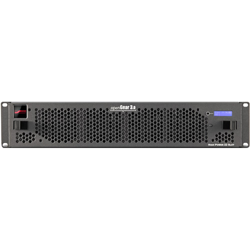 OpenGear 21 Slot Frame W/cooling Fans, Power Supply, Full Networking