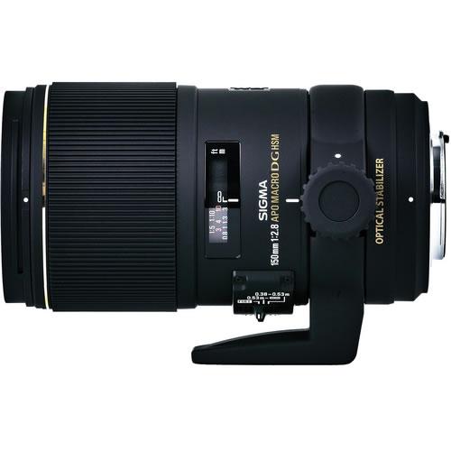 AF 150mm f/2.8 EX DG OS Macro Lens for Canon