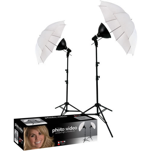 2-Light uLite Umbrella Kit
