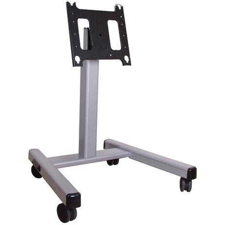 3' - 4' Mobile Cart, Silver 15 - 45 Degree Tilt