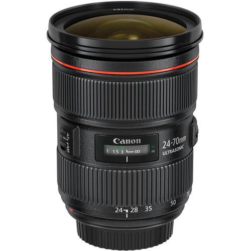 EF 24-70mm f/2.8L II USM Zoom Lens