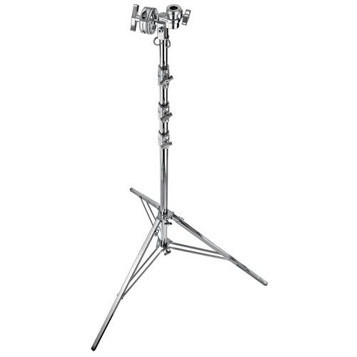 Steel Wide Base Overhead Stand 6