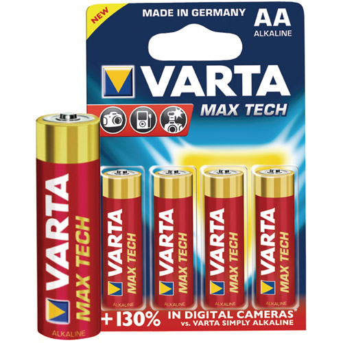 AA Alkaline 1.5V 4-Pack(Photo)
