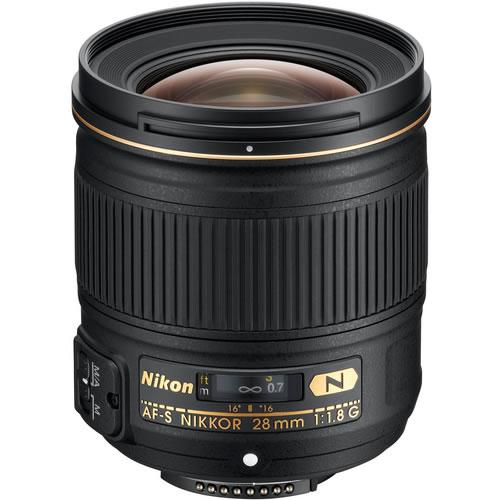 AF-S NIKKOR 28mm f/1.8 G Lens