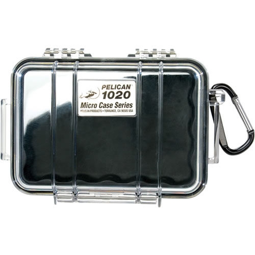 1020 Micro Case Black/Clear