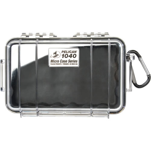 1040 Micro Case Black/Clear