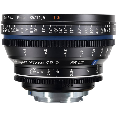 CP.2 T* 85mm f/1.5 EF, Feet Super Speed Compact Prime CP.2 (feet)
