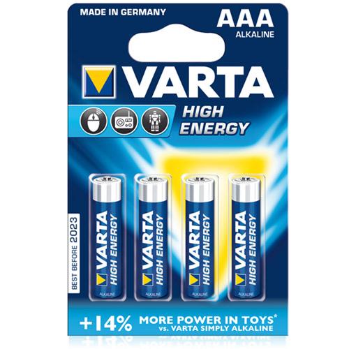 AAA Alkaline 1.5V 4-Pack