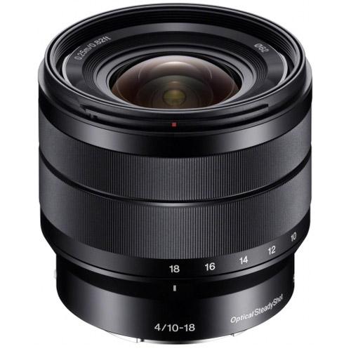 SEL 10-18mm f/4.0 OSS E-Mount Lens