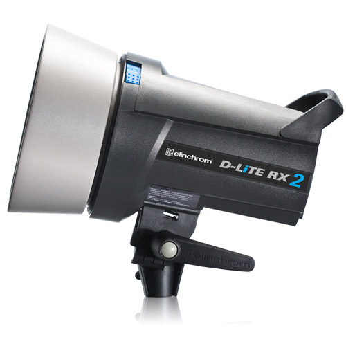 D-Lite RX 2 200Ws Bi-Voltage Fan Colled Self Contained Flash Head