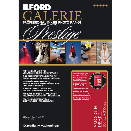 """8.5""""x11"""" Galerie Prestige Smooth Pearl 25 Sheets"""