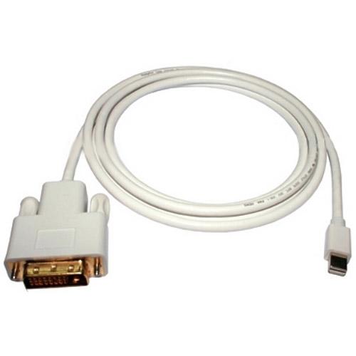 6' MiniDisplayPort to DVI M/M