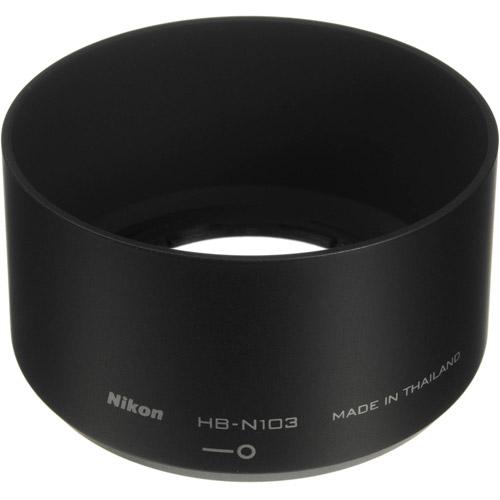 HB-N103 Black Lens Hood for 1 NIKKOR 30-110mm Lens