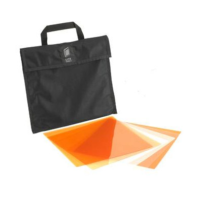 1x1 Gel Set (6 Piece) Includes Carry Bag CTO Gel Set Is Orange In Color