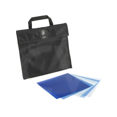 1x1 Gel Set (6 Piece) Includes Carrying Bag CTB Gel Set Is Blue In Color