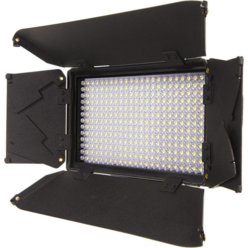 On-Camera Dual Color Led Light with Digital Display