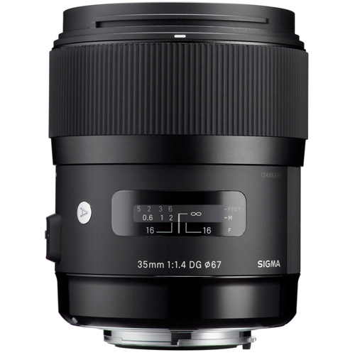 ART 35mm f/1.4 DG HSM Lens for Nikon