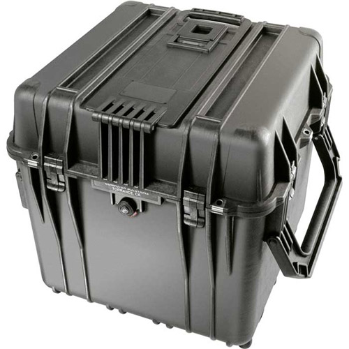 0340 Cube Case with Foam-Black