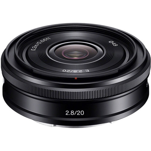 SEL 20mm f/2.8 Pancake E-Mount Lens