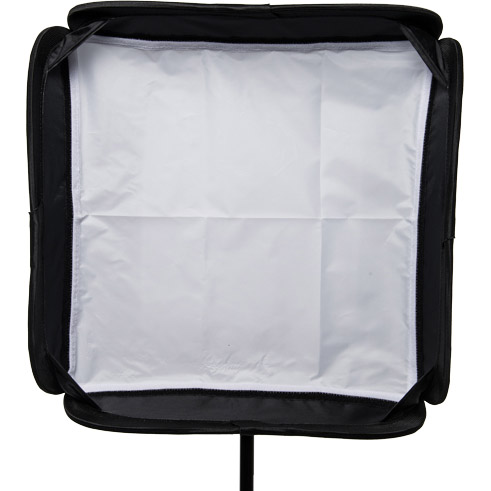 "illumi 19"" x 19"" (50 cm x 50 cm )  Speedlight Collapsible Softbox -  Silver with Tilthead Bracket"