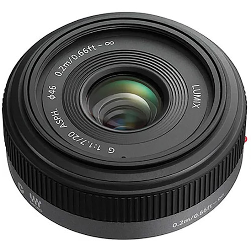 Lumix G 20mm f/1.7 II Lens