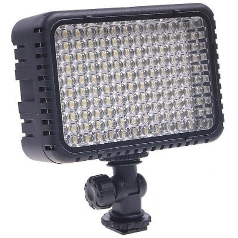Nanguang CN-LUX1500 LED On-Camera Light with Sony Type F550 Battery, Charger and Cold Shoe Adapter