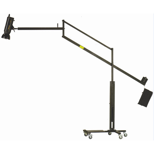 Jib Boom Arm and Platform Stand and Holder for Power Pack