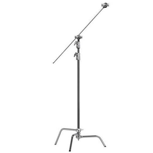 "Kupo 40"" C Stand Kit with Sliding Leg, 40"" Extension Grip Arm and Grip Head"
