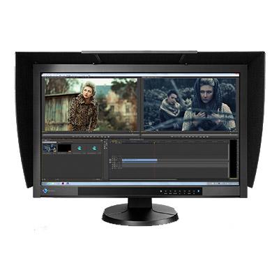 "CG277-BK 27"" 2560x1440 IPS LED Black,  99% Adobe RGB Coverage DP/DVI/HDMI, Bundled with Hood"