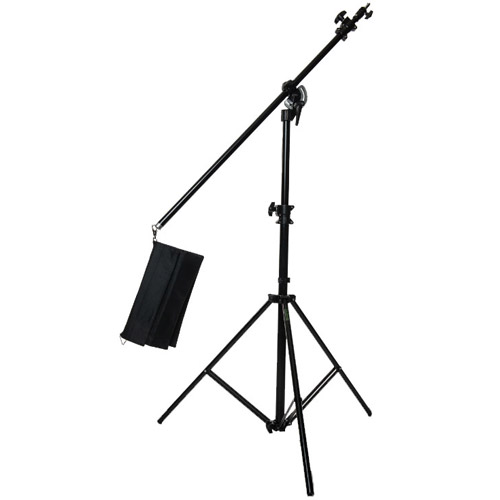Convertible Combi Boom Stand with Sandbag - Black
