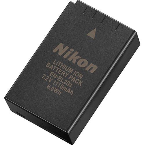 EN-EL20a Rechargeable Battery for P1000