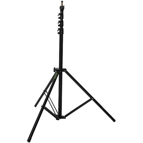 Mantis Medium 3.0 m Air Cushion Light Stand Black