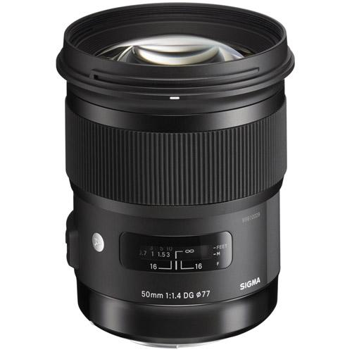 ART 50mm f/1.4 DG HSM Lens for Canon