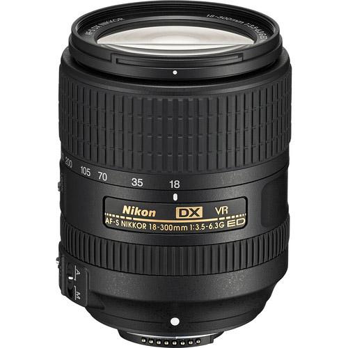 AF-S DX NIKKOR 18-300mm f/3.5-6.3 G ED VR Lens