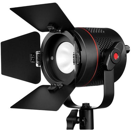 Fiilex P360EX LED Light W/Barn Door 3000-5600K Flicker