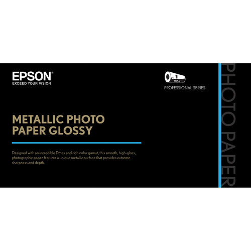"44"" x 100'  Metallic Photo Paper Glossy"