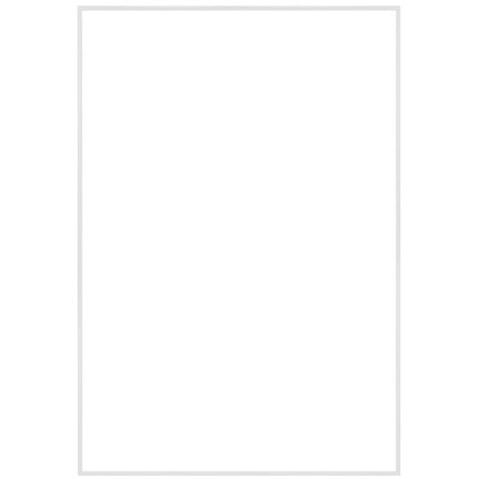 """13"""" x 19"""" Fineline White Aluminum Frame - No Matte"""