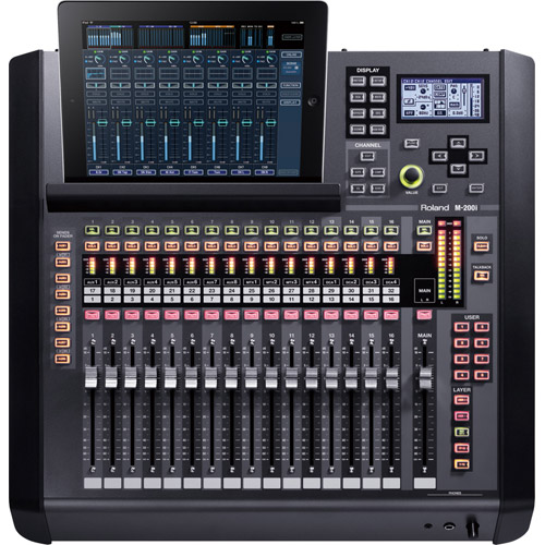 roland m200i live mixing console audio mixers vistek canada product detail. Black Bedroom Furniture Sets. Home Design Ideas